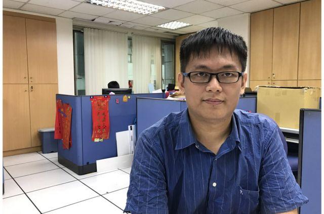 25歲的呂謦煒,曾任國民黨青年團長,對於韓國瑜的政策還在「審慎觀察」。