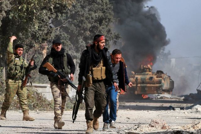 Dagaalyahannada FSA waxay sheegeen in magaalada oo dhan ay miineysan tahay