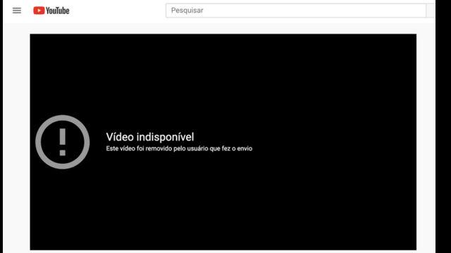 Imagem de vídeo retirado do YouTube