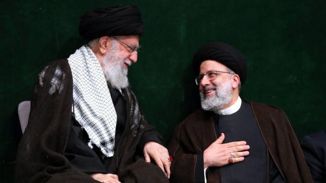 رئیسی و خامنهای