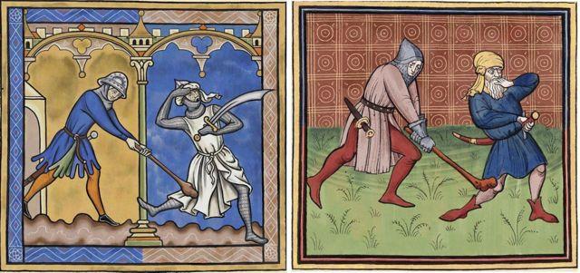 Подражать примитивному на первый взгляд стилю художников позднего Средневековья - не так уж и просто, признается Саша Комьяхов