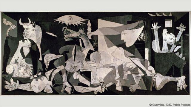 """""""Guernica"""", quadro de Pablo Picasso"""