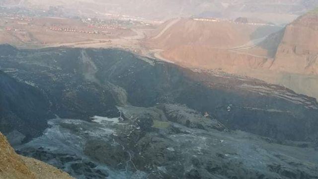 ပေ ၁၀၀ ကျော်အနက်ရှိတဲ့ ပြိုကျသွားခဲ့တဲ့ နွံကန်