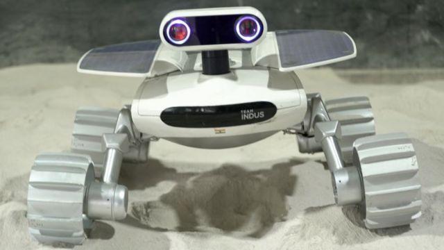 Team Indus ECA rover