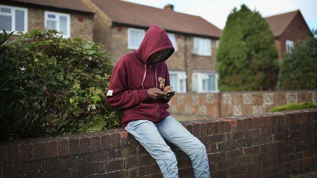 أحد طالبي اللجوء في بريطانيا