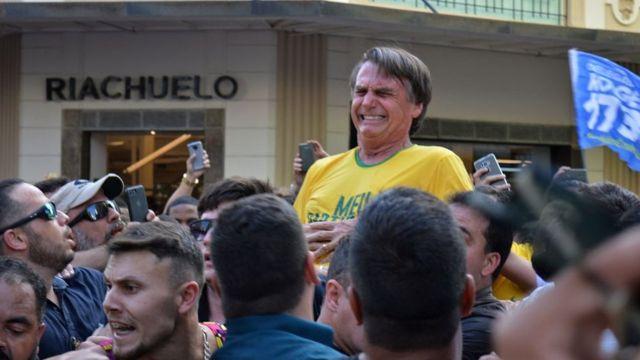 राष्ट्रपति पद के उम्मीदवार ज़ईर बोलसोनारो, Jair Bolsonaro, Brazilian right-wing presidential candidate