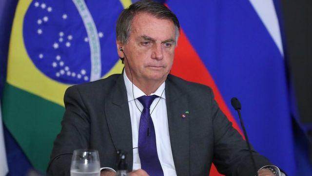 Bolsonaro em encontro dos BRICS