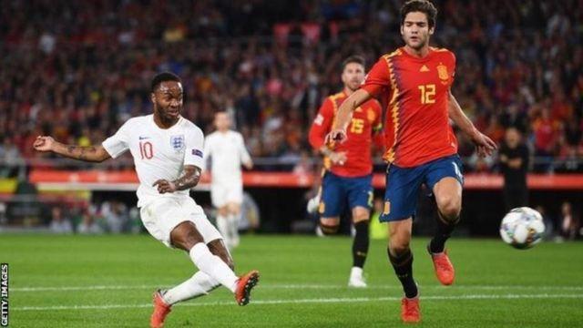 England na Spain