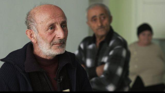 Валерий Гаспарян, переселенец из Гадрутского района в Капан