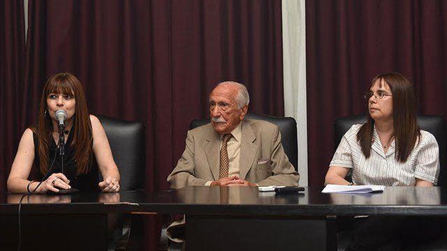 Adriana Fernández, Darío Rivas e Inés García Holgado