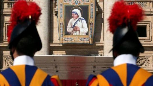 Canonización de la Madre Teresa