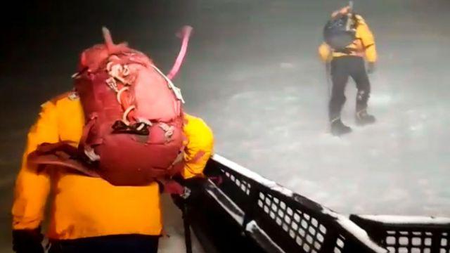 Спасатели на Эльбрусе