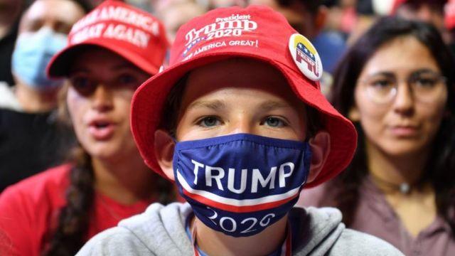 юный сторонник Трампа