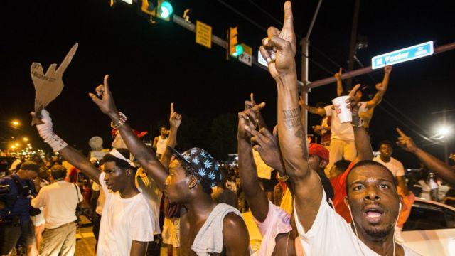 Protestas en Baton Rouge