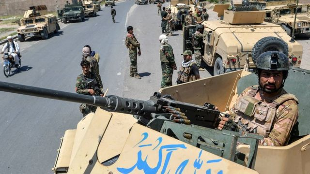 Afghan government forces
