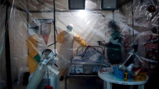 Ndị ebola na-enye nsogbu