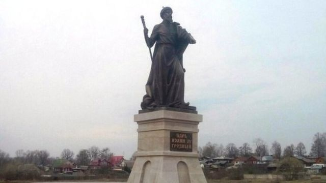 Ivan the Terrible statue goes missing after one hour
