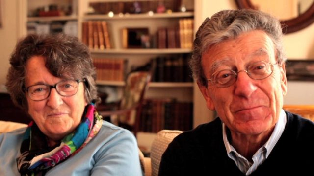 Jacques and Martine Mercier