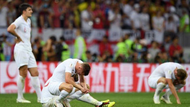 Nỗi buồn vô hạn của các cầu thủ Anh