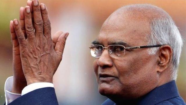 ভারতের নতুন রাষ্ট্রপতি রামনাথ কোভিন্দ