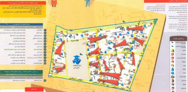 نقشه زلزله