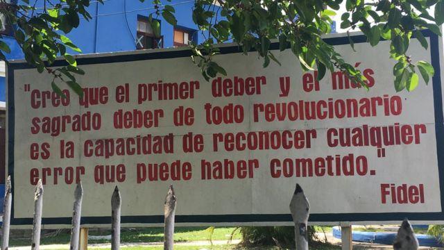 Khẩu hiệu cách mạng Cuba