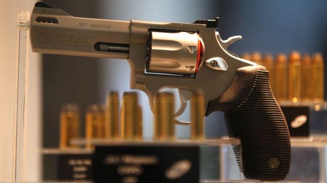 Magnum calibre 357 da Taurus