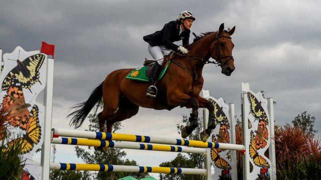 Equitación en el pentatlón moderno