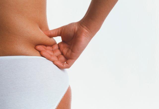 Женщина с излишками веса