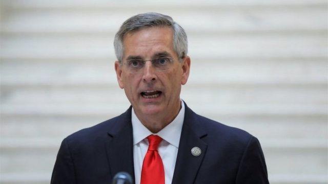 Brad Raffensperger, secretario de Estado de Georgia