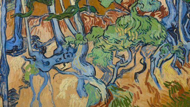 گمان میرود تابلو ریشه درختان آخرین اثر ون گوگ بوده است