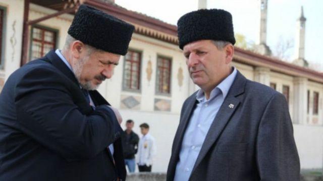 Рефат Чубаров и Ахтем Чийгоз