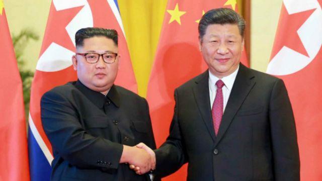 올해 6월 북·중 정상회담에서 시진핑 중국 주석은 김정은 위원장에게 신의주-개성 간 철도 및 도로 개·보수를 제안한 것으로 알려졌다
