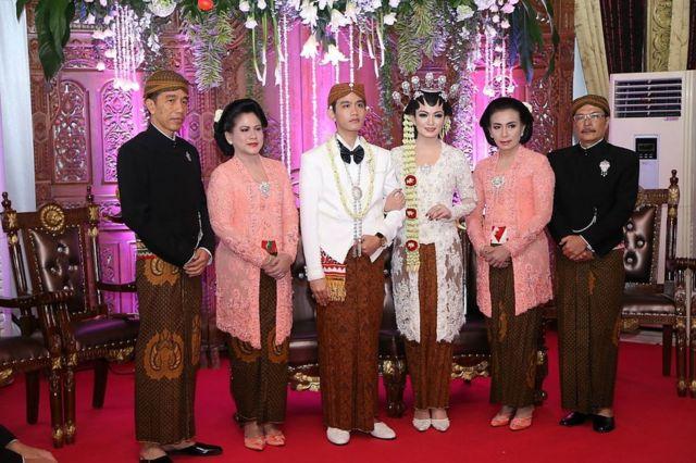 Joko Widodo dan keluarga