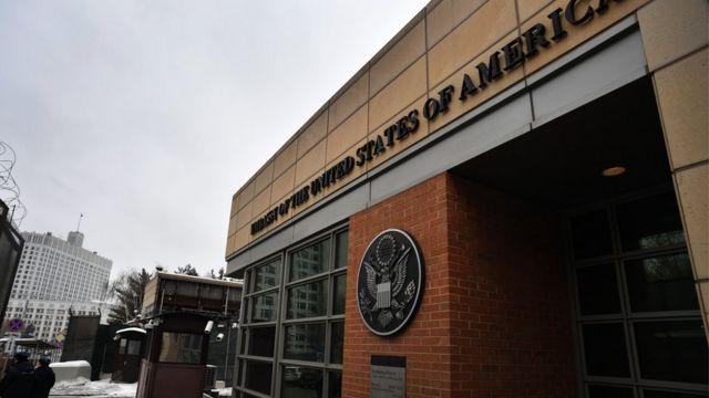 سفارت آمریکا در مسکو
