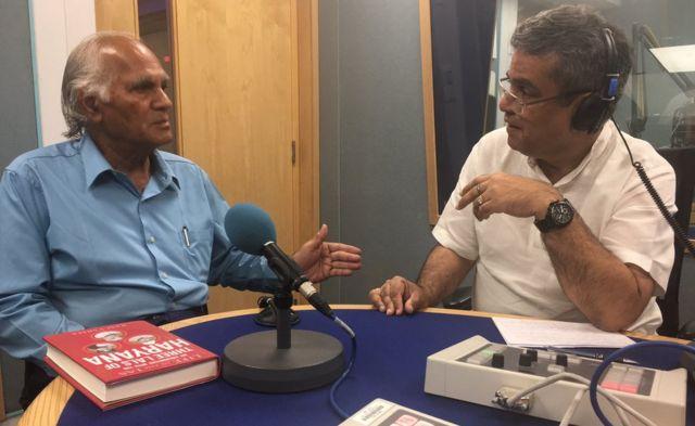 राम वर्मा के साथ रेहान फ़ज़ल