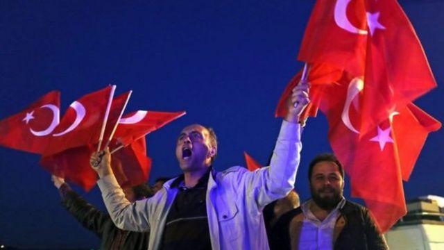 Erdoğanın tərəfdarları