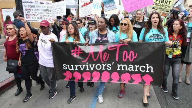 """حركة """"أنا أيضا"""" المناهضة للتحرش الجنسي"""