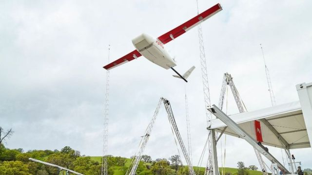 Zipline blood delivery drone applies for US trial