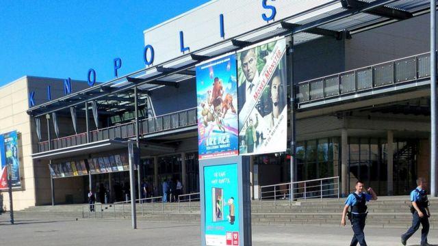 Fachada del complejo de cines Kinopolis