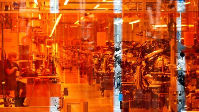 Завод в Германии