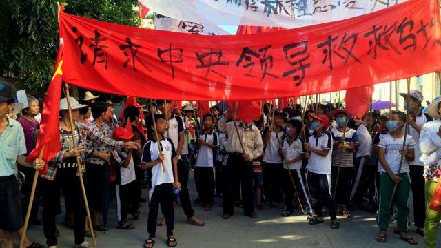 Vecinos de Wukan piden consideración al gobierno central