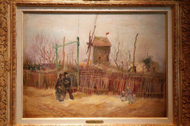 """""""Escena callejera en Montmartre"""""""