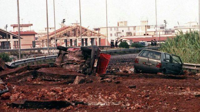 Lugar del atentado