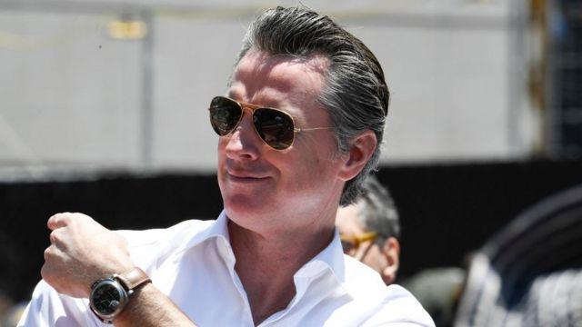 Gobernador de California, Gavin Newsom