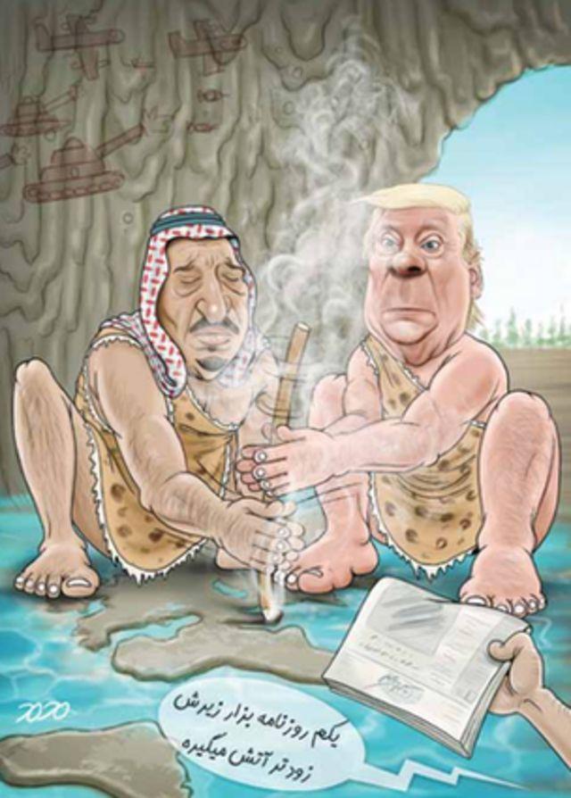 کارتون محمد طحانی، ابتکار
