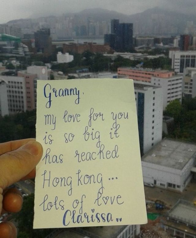 a letter from hong kong