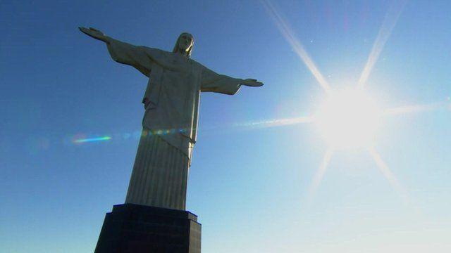 Christ the King statue in Rio de Janeiro