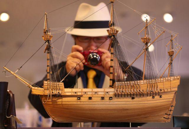 แบบจำลองเรือรบหลวงแมรีโรส