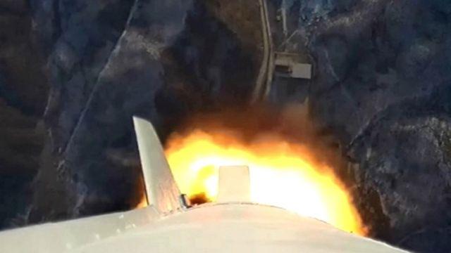 北朝鮮のテレビは発射したロケットからの映像を放送(7日)